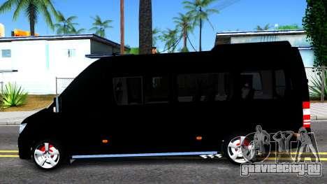 Mercedes-Benz Sprinter для GTA San Andreas вид слева