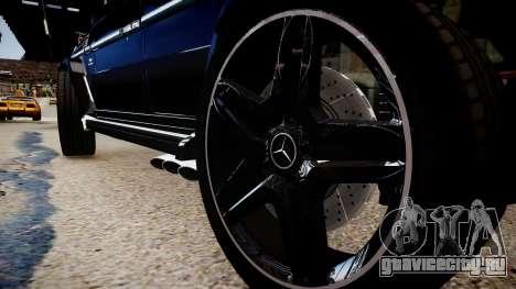 Mercedes-Benz G65 для GTA 4 вид сзади