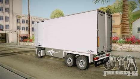 Iveco Eurotech 400E34 Tandem v2.0 Trailer для GTA San Andreas вид слева