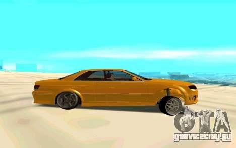 MarkJzx100Audi для GTA San Andreas вид слева
