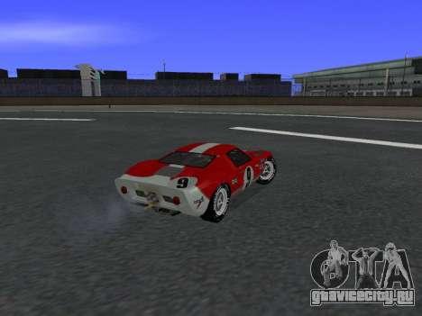 Ford GT40 для GTA San Andreas вид слева