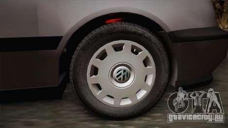 Volkswagen Golf Mk3 Stock для GTA San Andreas вид сзади слева