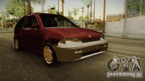 Suzuki Swift 1.3 для GTA San Andreas