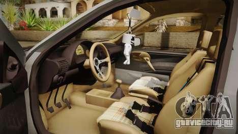 Chevrolet Corsa Camber для GTA San Andreas вид справа