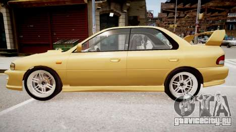 Subaru Impreza GC8 JDM Spec для GTA 4 вид слева