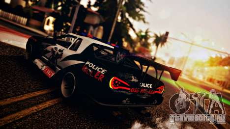 Elegy Hellcat 2.0 для GTA San Andreas салон