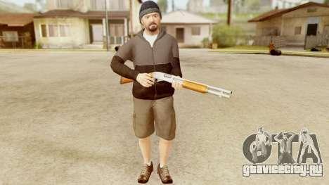 GTA 5 Michael Hoody для GTA San Andreas четвёртый скриншот