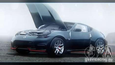 Nissan 370Z Nismo 2016 EU Plate для GTA San Andreas вид сбоку