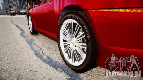 Ferrari 575M Maranello для GTA 4 вид сзади