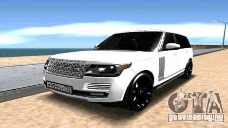 Range Rover для GTA San Andreas
