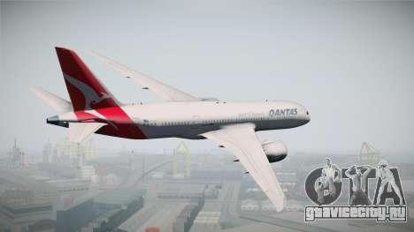 Boeing 787-8 Qantas для GTA San Andreas вид слева