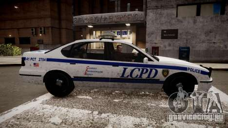 Police Patrol V2.3 для GTA 4 вид слева