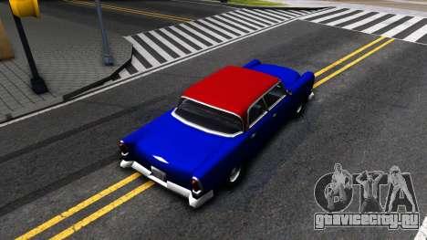 New car in style SA для GTA San Andreas вид сзади