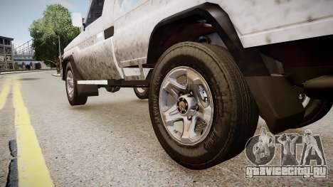 Toyota Land Cruiser Pick-Up 79 2012 v1.0 для GTA 4 вид сзади