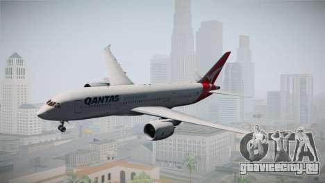 Boeing 787-8 Qantas для GTA San Andreas вид сзади слева