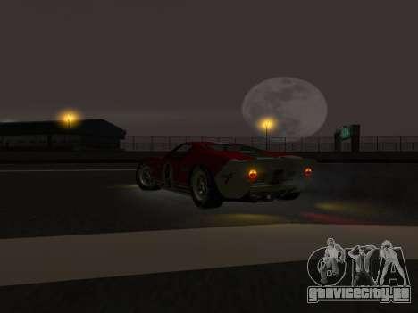 Ford GT40 для GTA San Andreas вид сзади слева