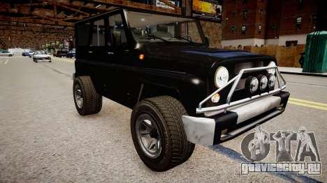UAZ Hunter Beta для GTA 4