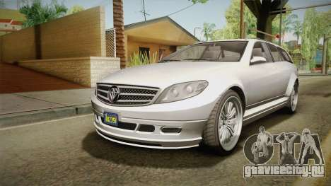 GTA 5 Benefactor Schafter Wagon для GTA San Andreas