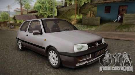 Volkswagen Golf Mk3 Stock для GTA San Andreas