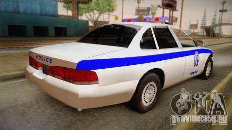 Ford Crown Victoria 1997 для GTA San Andreas вид слева