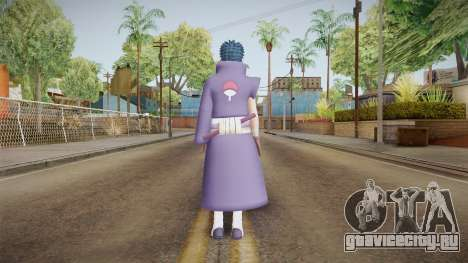 NUNS4 - Obito War Without Mask Damaged для GTA San Andreas третий скриншот