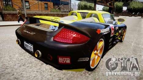 Porsche Carrera GT [EPM] для GTA 4 вид слева