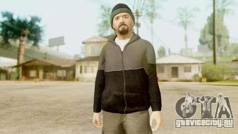 GTA 5 Michael Hoody для GTA San Andreas третий скриншот