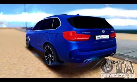 BMW X5M для GTA San Andreas вид слева