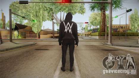 Alan Walker Skin для GTA San Andreas третий скриншот