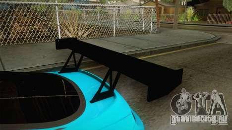 Toyota Supra Stance для GTA San Andreas вид изнутри