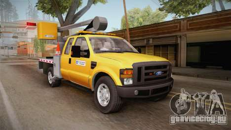 Ford F-350 2008 Cherry Picker для GTA San Andreas