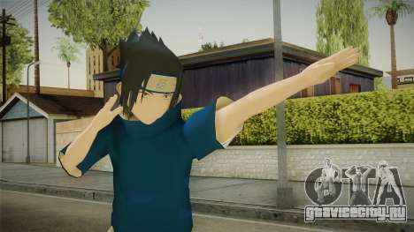 NUNS4 - Sasuke Genin Sharingan для GTA San Andreas