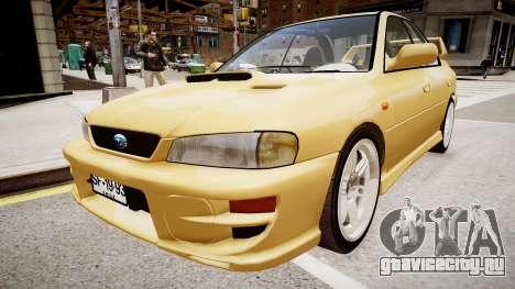 Subaru Impreza GC8 JDM Spec для GTA 4