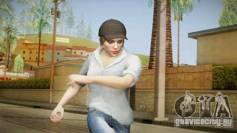 GTA 5 Online Skin Female Mail для GTA San Andreas