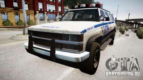 Declasse Police Ranger для GTA 4 вид справа