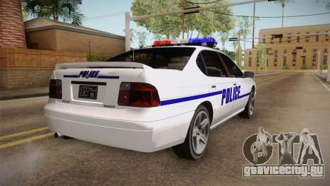 Declasse Merit 2005 Dillimore Police Department для GTA San Andreas вид справа