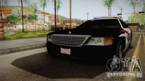 Dundreary Admiral Police 2009 для GTA San Andreas