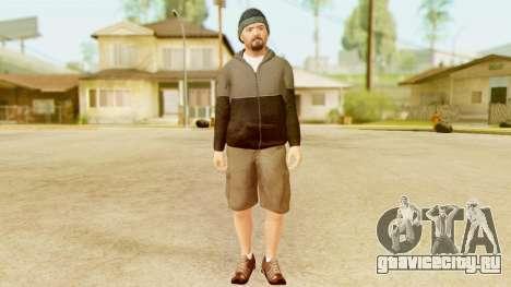 GTA 5 Michael Hoody для GTA San Andreas второй скриншот
