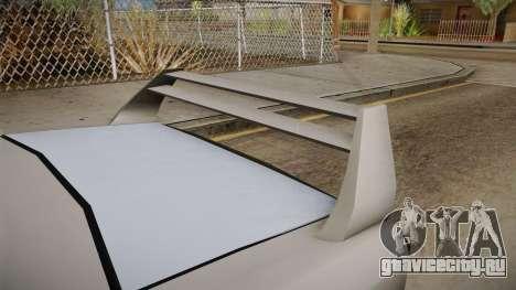 Declasse Shark для GTA San Andreas вид сзади