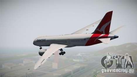 Boeing 787-8 Qantas для GTA San Andreas вид справа