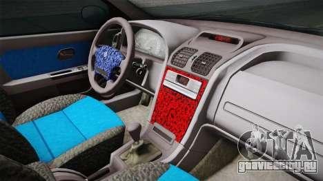 Renault Laguna для GTA San Andreas вид изнутри