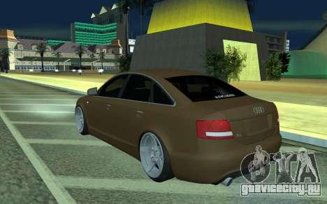 Audi A6 STANCE для GTA San Andreas вид слева