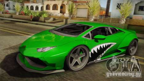 Lamborghini Huracan Liberty Walk для GTA San Andreas