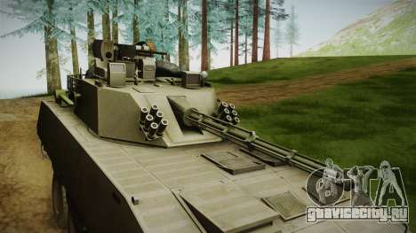 APCMV RS-1 Predator для GTA San Andreas вид сзади