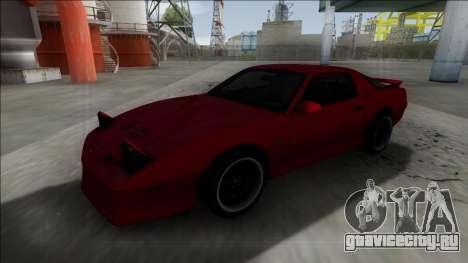 Pontiac Trans AM для GTA San Andreas вид справа