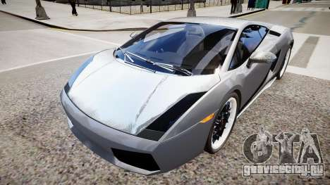 Lamborghini Gallardo Superleggera Custom 2007 для GTA 4 вид справа
