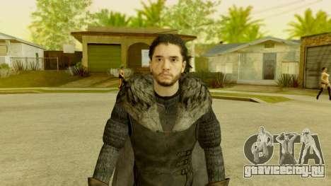 Game of Thrones - Jon Snow для GTA San Andreas второй скриншот