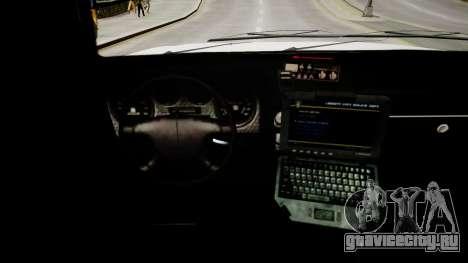Declasse Police Ranger для GTA 4 вид изнутри