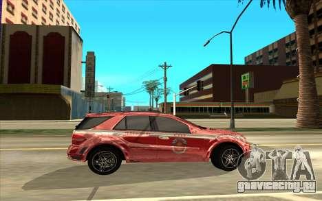 Mercedes-AMG для GTA San Andreas вид слева