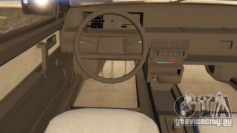 VAZ-2108 для GTA 5 вид справа